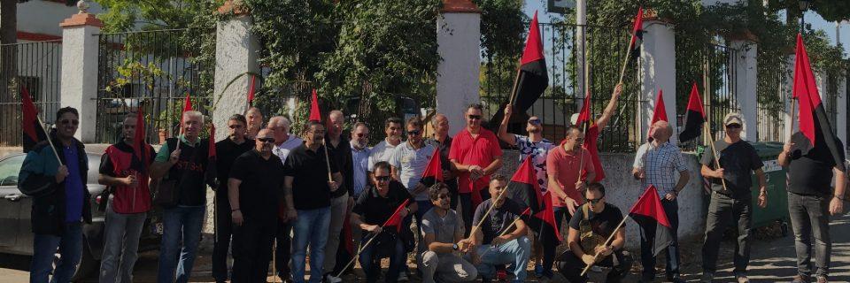 Concentración en Emsevipro Sevilla